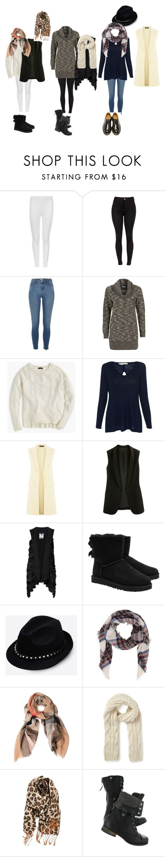 """New York in December"" by gbibbero on Polyvore featuring M&S Collection, River Island, J.Crew, Belford, Jocelyn, UGG Australia, Valentino, Burberry, Warehouse and BP."