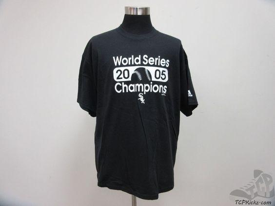 Adidas Chicago White Sox Short Sleeve Crewneck t Shirt sz 2XL 2X Large MLB AL #adidas #ChicagoWhiteSox