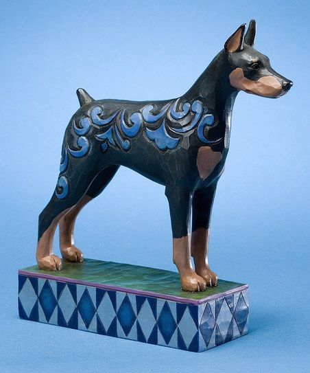Doberman Pinscher Figurine