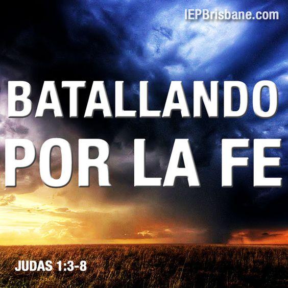 Batallando por la fe