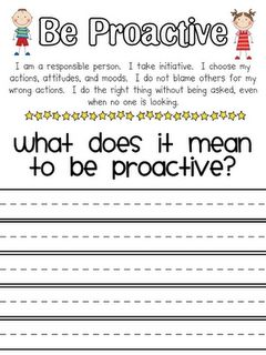Cute LIM worksheets!