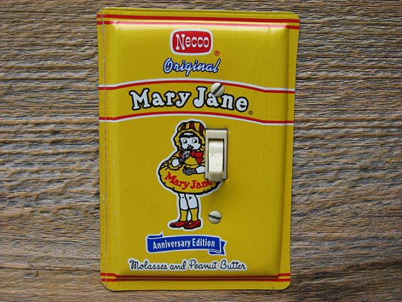 Mary Jane Candy Collectible Tins Necco Candies by tincansally