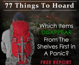Even though I'm not a survivalist, the changing weather makes these items necessary to keep on hand
