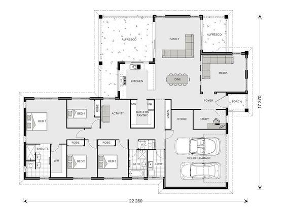 Parkview 290 - Element, Our Designs, Sunshine Coast South Builder
