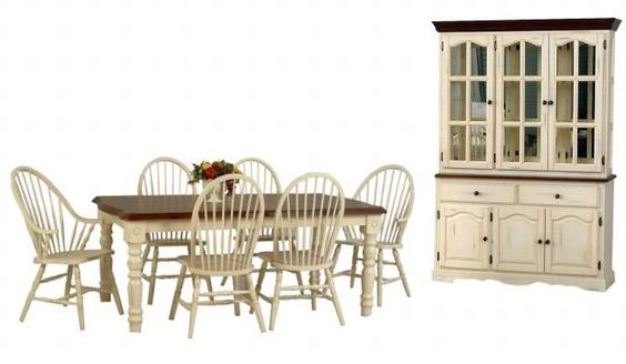 Birches Windsor Chairs And The Hutch On Pinterest