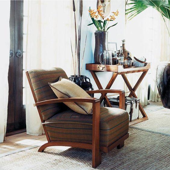 Ralph Lauren Home #Cape_Lodge Collection  8 - Armchair