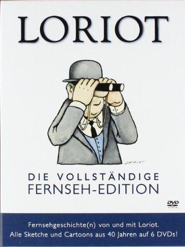 Loriot - Die vollständige Fernseh-Edition - Alle Sketche und Cartoons aus 40 Jahren 6 DVDs: Amazon.de: Loriot, Evelyn Hamann, Vicco von Bülow: Filme  TV