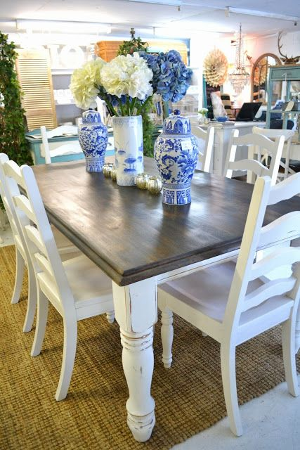 17 Best Images About Breakfast Room Table Ideas On Pinterest Stunning Ideas For Painting Dining Room Table And Chairs Inspiration Design