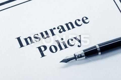 Insurance Policy Stock Photos Ad Policy Insurance Photos Stock