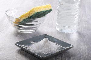 Bicarbonate de soude pour le ménage.