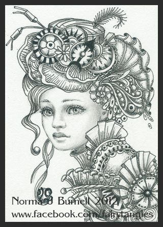 Fairy Tangles Steampunk by Norma