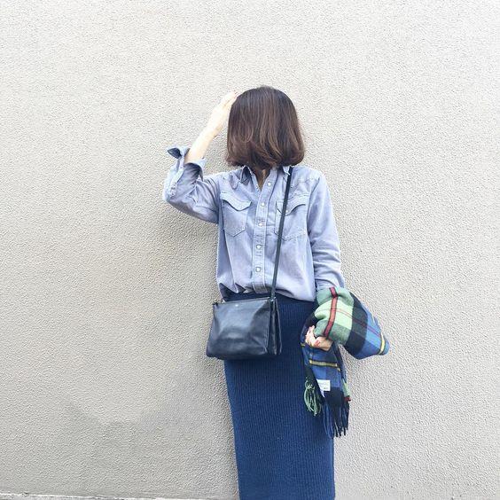 """""""前のpicが消えてしまったので。 . #顔が見えませんが横向いてます #ronherman  #milaowen #celine #johnstons #RH別注"""""""