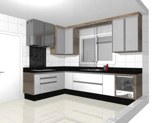 Küche in Magnolie #Eckküche wwwdyk360-kuechende Kitchen - nobilia küchen katalog