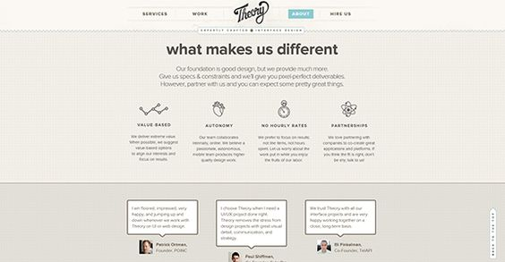 25 Creative and Interesting About Pages Design