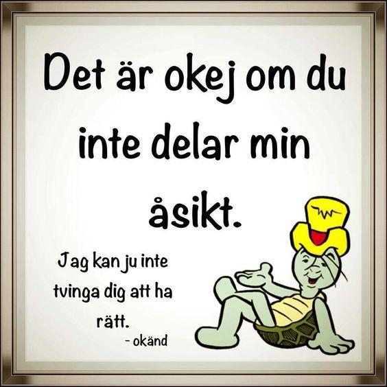På svenska: