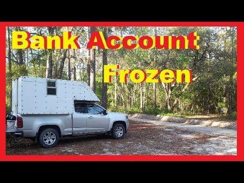 Bank Froze My Account Rv Living Full Time Van Life Nomad Youtube Van Life Rv Living Rv Life