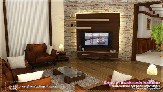 Living Room Lcd Tv Wall Unit Design Ideas
