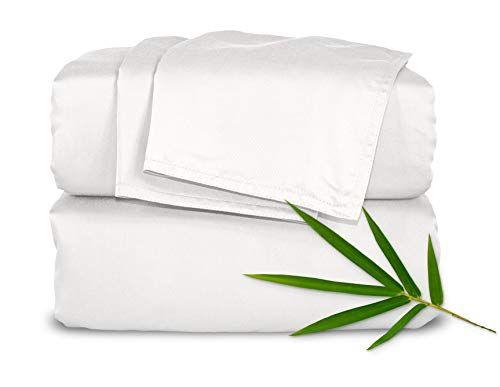 Pure Bamboo Sheets King Size Bed Sheets 4 Pc Set 100 Organic