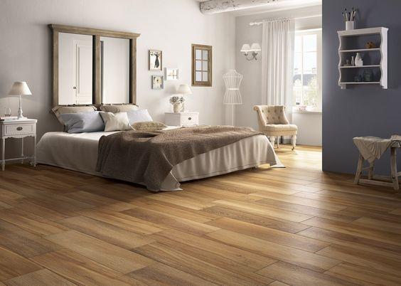Carrelage imitation parquet bois chaleureux BARRIQUE House