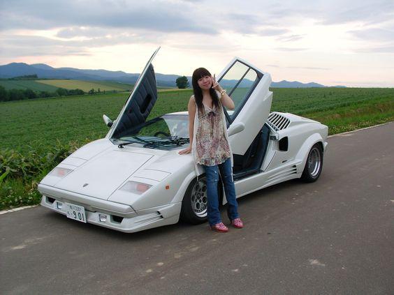 Charming 1985 White Lamborghini Countach | The Automobile: Vol 1 | Pinterest |  Lamborghini, Wheels And Cars Home Design Ideas