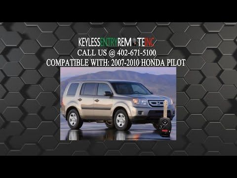 How To Change A 2005 2009 Honda Pilot Key Fob Battery Key Fob