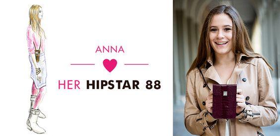Hipstar88 ist die Handy oder Smartphonetasche zum Umhängen. Ein feines Accessoire und nicht nur praktischer Begleiter von dem neuen Label hot items 88.