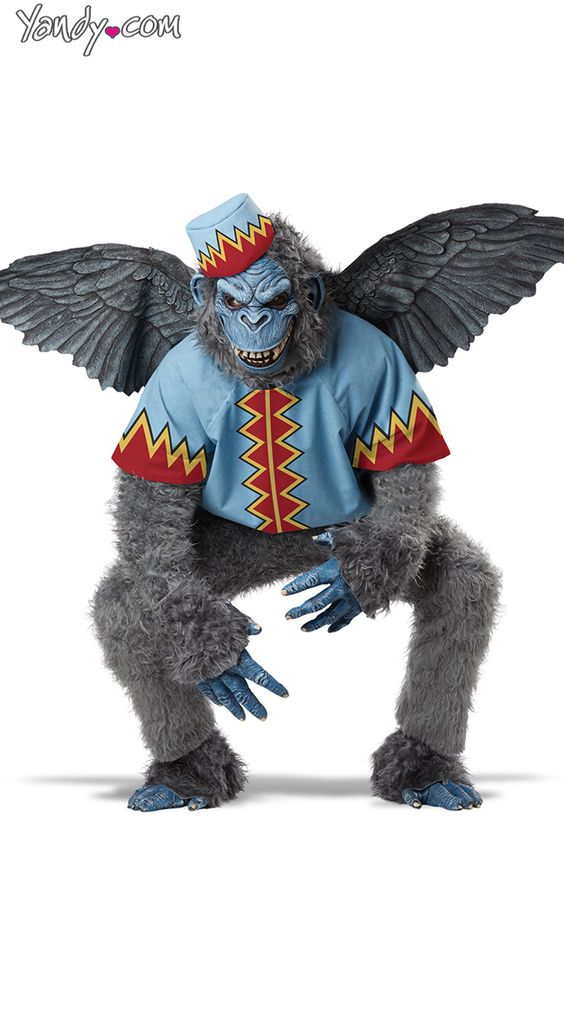 Flying Monkey Costume! what ever I want to wear for Halloween... it has to be wizard of oz!