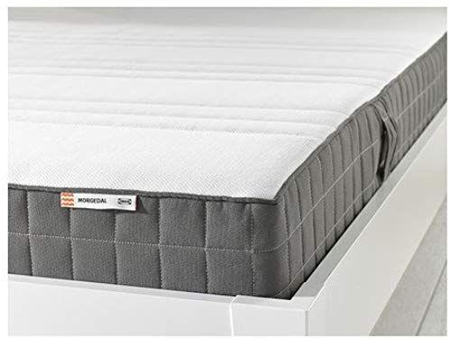 New Ikea Morgedal King Size Foam Mattress Medium Firm Dark Gray