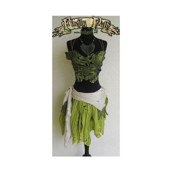 Costumes via Polyvore featuring costumes, fairy halloween costume and fairy costume