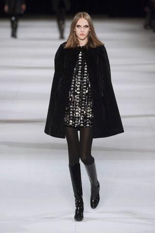 Défilé de mode automne-hiver 2015: Saint Laurent   Clin d'oeil