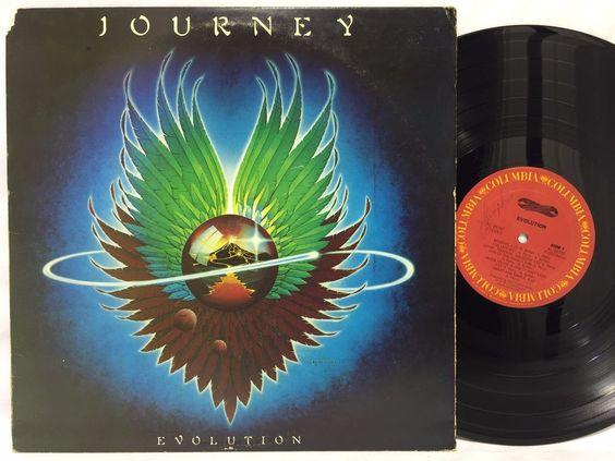 Journey - Evolution - 1979 Columbia LP #Vinyl Record