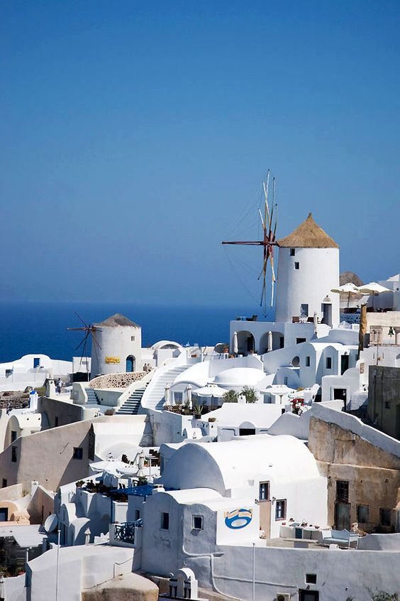 The Windmills of Oia, Santorini
