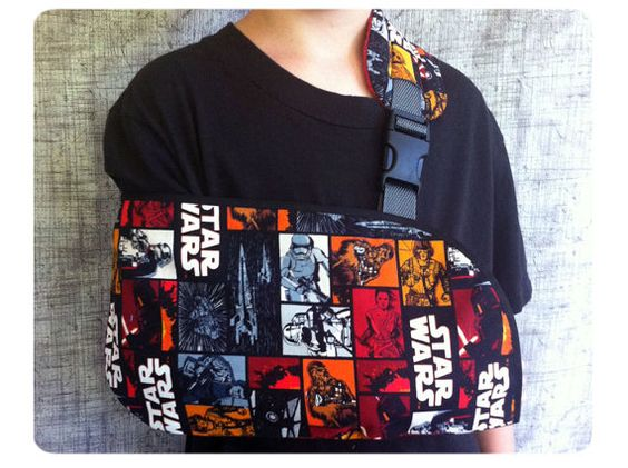 Ready to ship Force Awakens Star Wars Arm Sling by SunnysideSlings