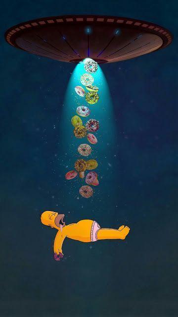 Top Ovnis Simpsons Papel De Parede Para Celular