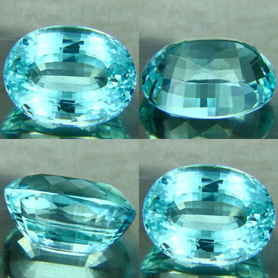 Paraiba Tourmaline....very rare and there haven't been any found in over ten years!