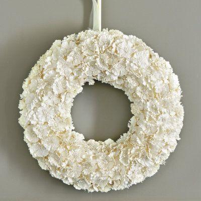 Paper Flower 18 wreath from Ballard designs