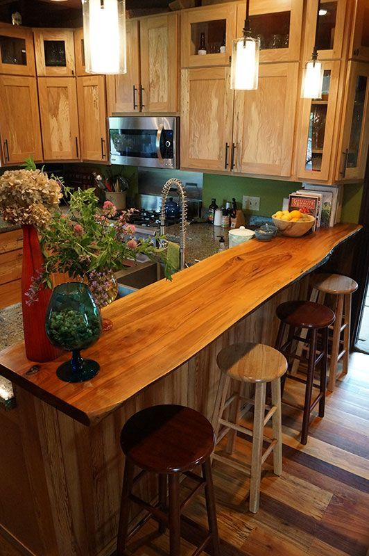 100 Year Old Kitchen By Chris Becker Woodmizer Woodmizersawmill Livethewoodlife Woodworking Kitchen Bar Kitchen Remodel Diy Wood Counters