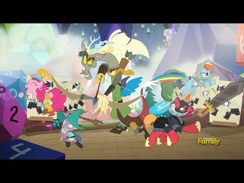 MLP Season 6 Episode 17 - Dungeons and Discords Full Episode