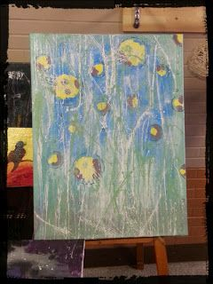 Abstraction~Designs: New Paintings!