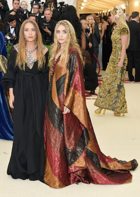Mary-Kate and Ashley Olsen Dresses at Met Gala 2018