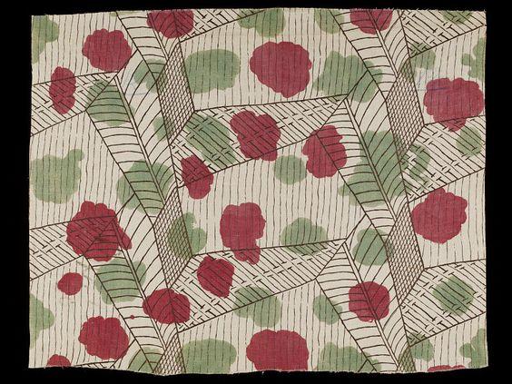 cavetocanvas: Vanessa Bell, White (furnishing fabric), 1913