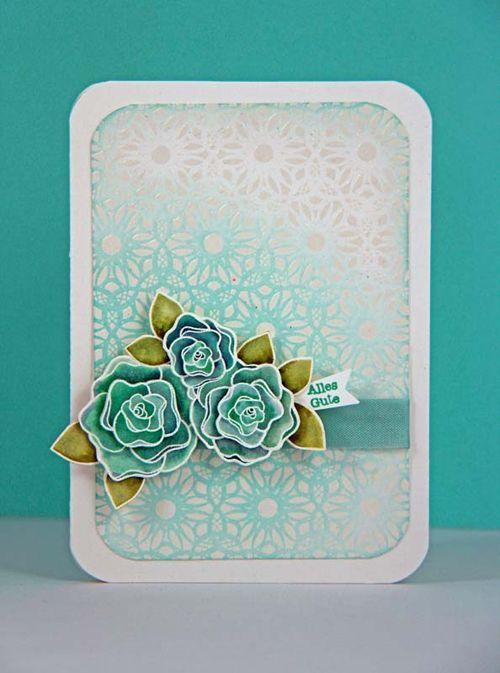 hero arts - dot flower pattern stamp