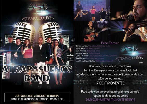 Diptico ASBband 2015