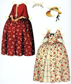 Colonial Paper Dolls