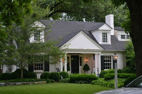 painted brick and ranch conversion inspiration