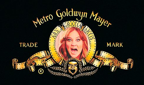 Jennifer Lawrence as the MGM Lion