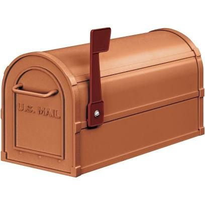 Smith And Hawken Copper Mailbox Google Search Rural Mailbox