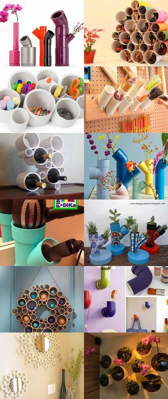 Minni Vest: Recicle, Renove, Decore usando canos de PVC.