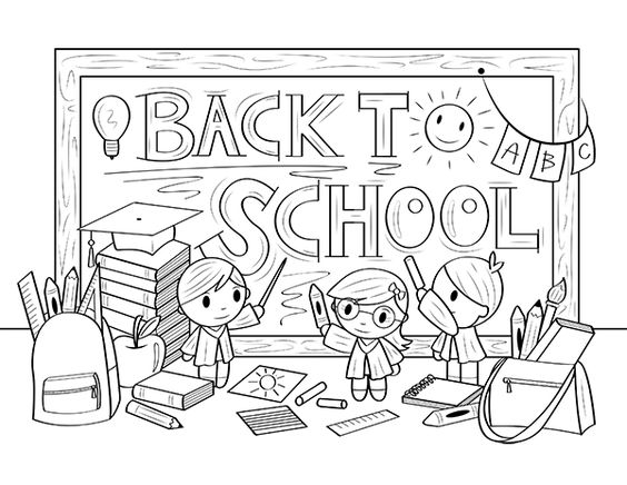 Free Printable Back To School Coloring Page Download It At Https Museprintables Com Download Col School Coloring Pages Welcome To Preschool Coloring Pages