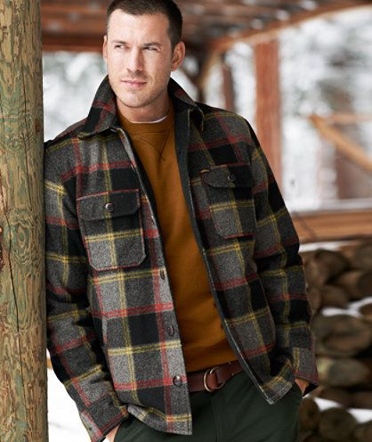 Lined Wool Blend Shirt Jacket | LLBean Signature Holiday Wish List ...